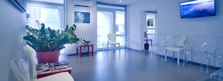 Salle d'attente SOS Rétine à Montpellier
